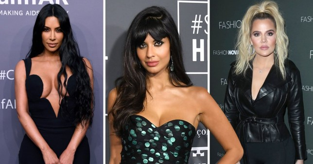 Kim K and Jameela Jamil officially at war