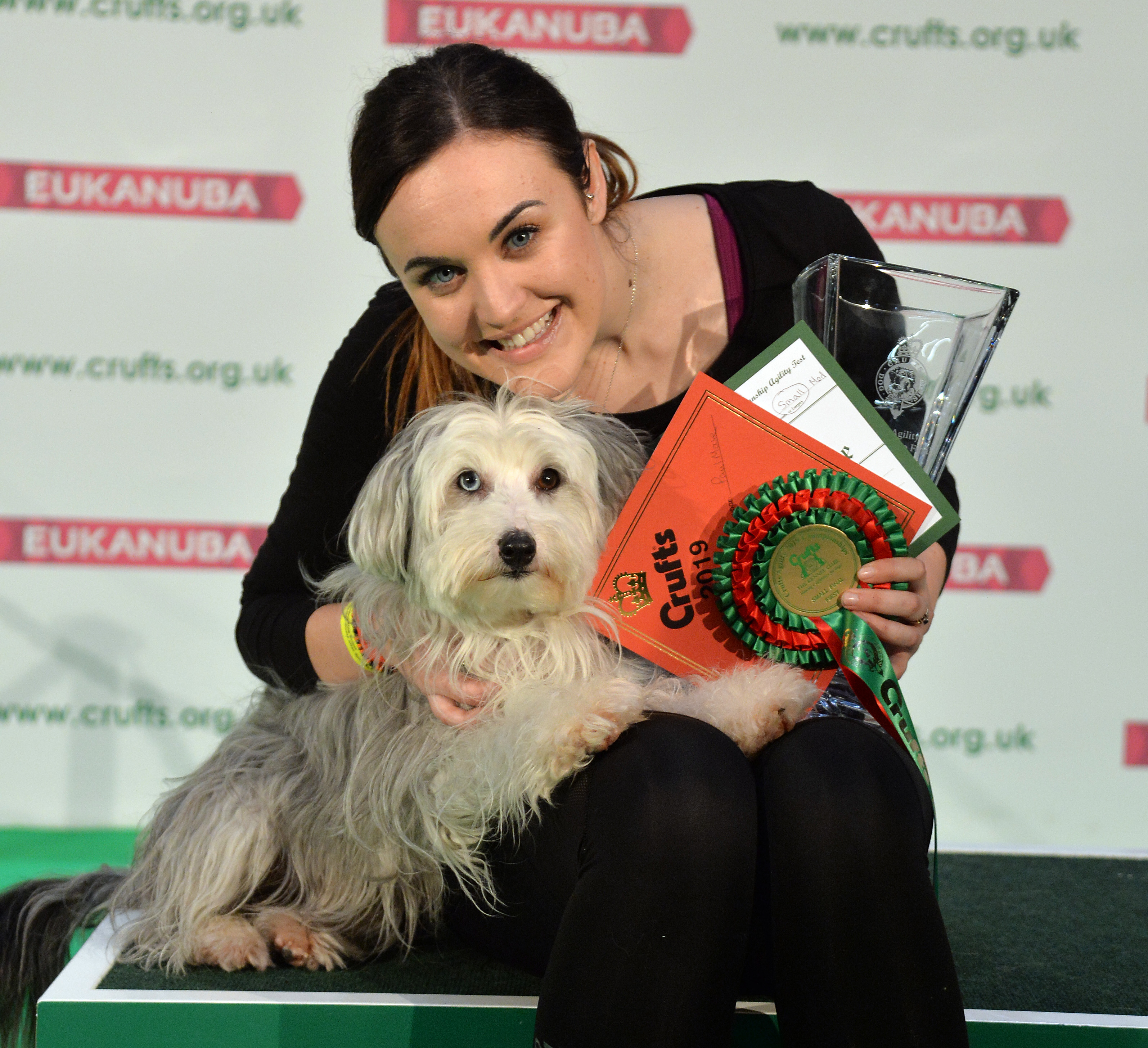Britain's Got Talent star Ashleigh Butler sobs over Crufts 2019 win with new dog Sully