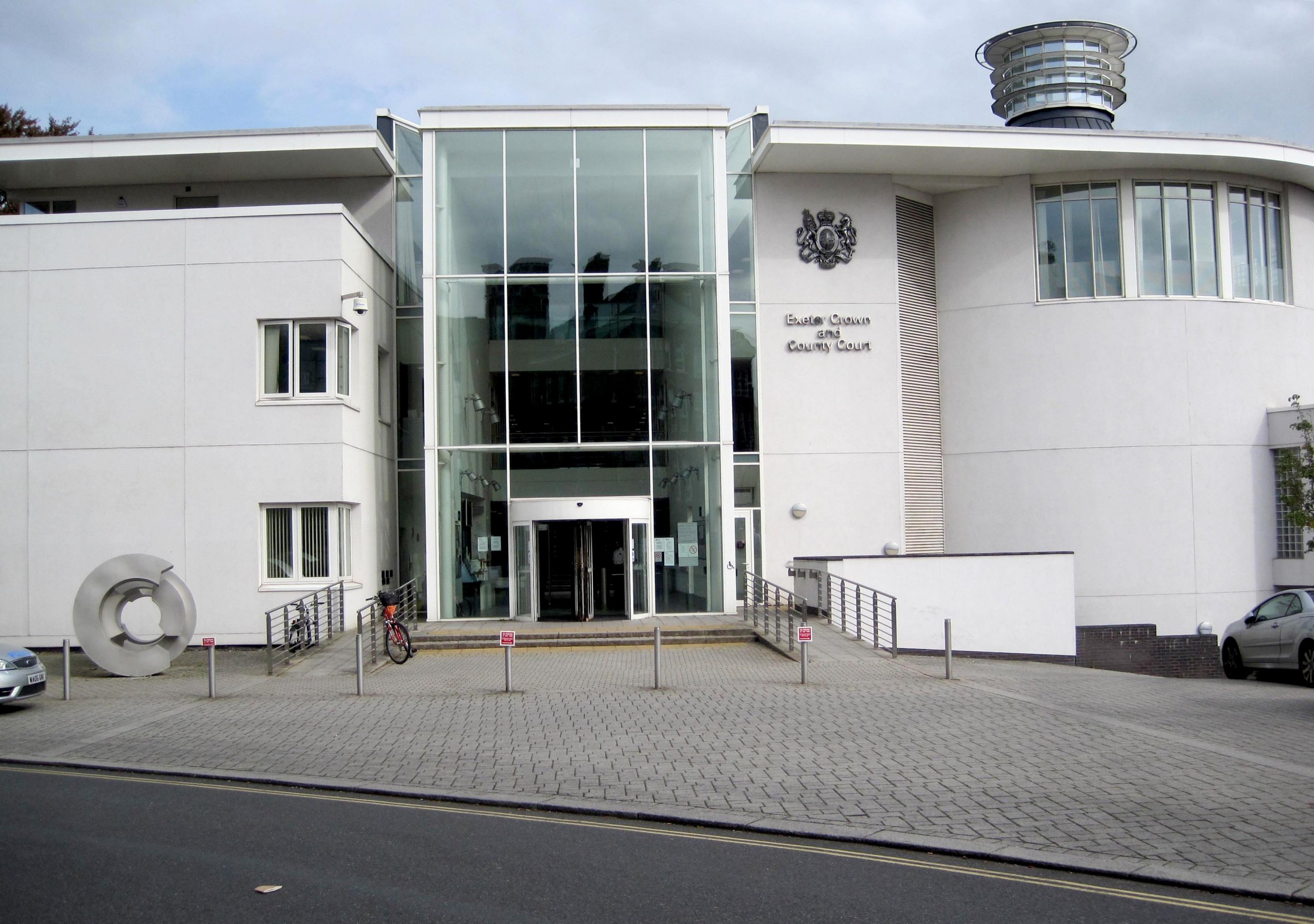 A general view of Exeter Crown Court in Exeter, Devon.