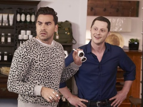 Schitt's Creek gets even more fabulous as cast meets Elton John
