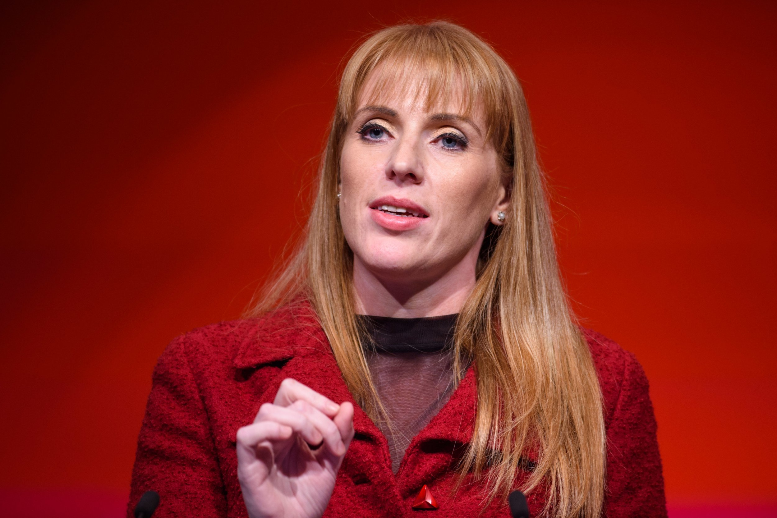 Shadow Secretary of State for Education Angela Rayner speaks during the Labour Party annual conference at the Arena and Convention Centre (ACC), in Liverpool. Picture date: Monday September 24th, 2018. Photo credit should read: Matt Crossick/ EMPICS Entertainment.