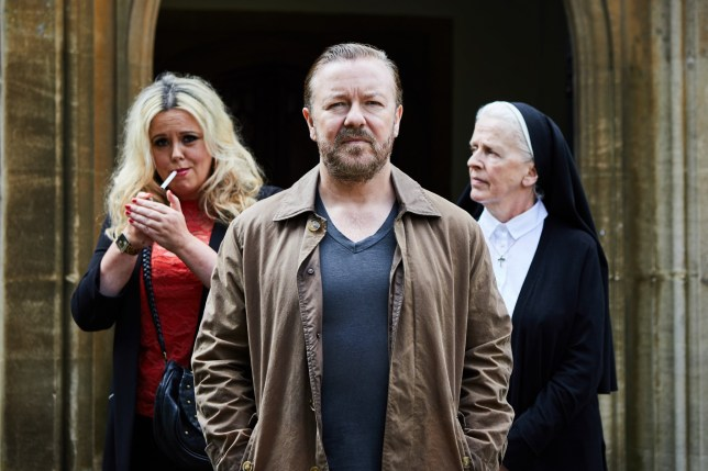 Television programme, 'After Life', TX Netflix Ricky Gervais AFTER-LIFE_EP06_D19-032.jpg