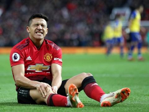 Solskjaer provides worrying Alexis Sanchez injury update after Man Utd beat Southampton