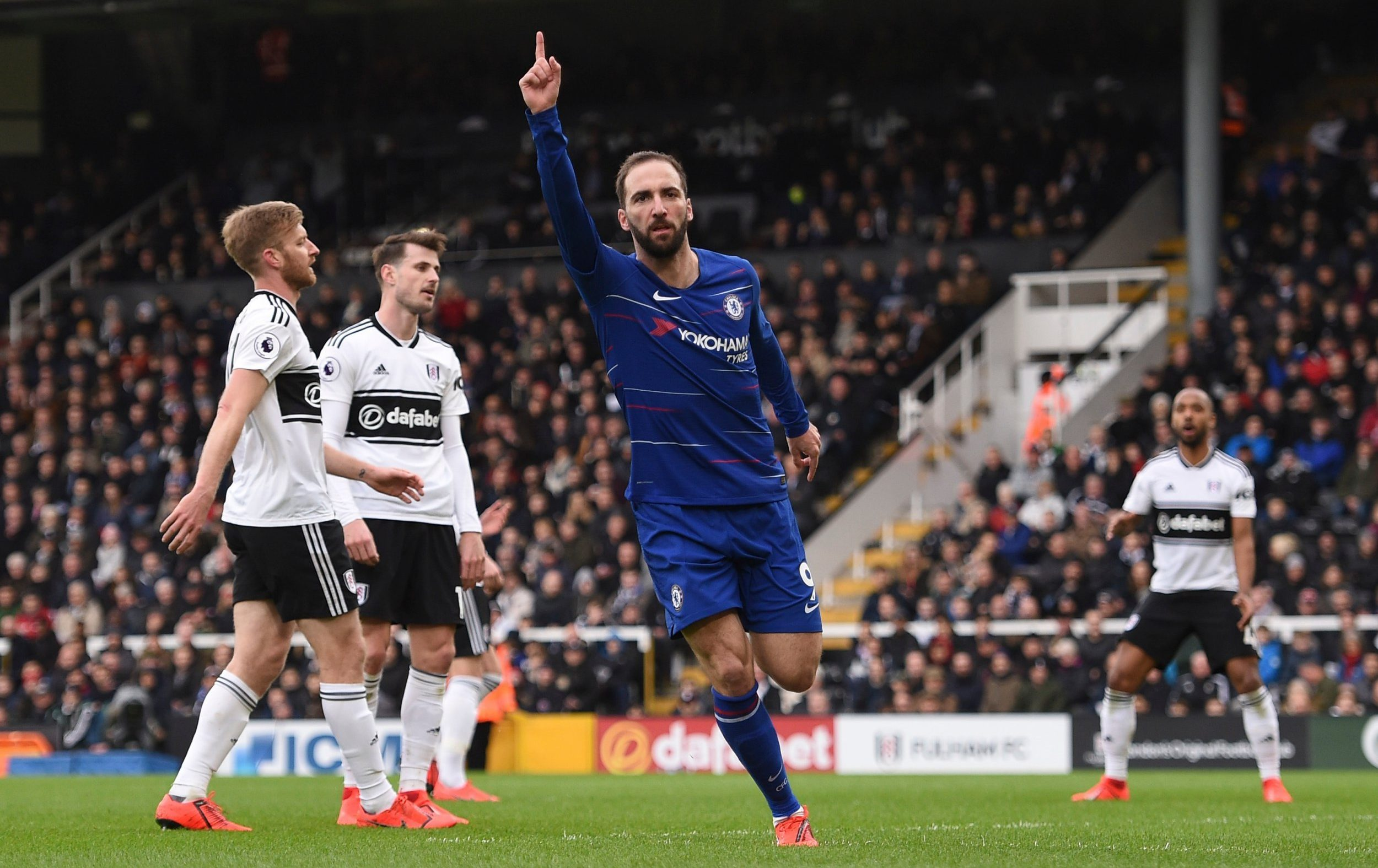 Jose Mourinho reveals the one problem Chelsea have with Gonzalo Higuain