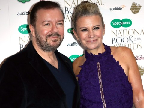 Ricky Gervais 'would fall apart' without partner of 30 years, Jane Fallon