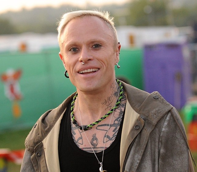 Keith Flint at Glastonbury Festival