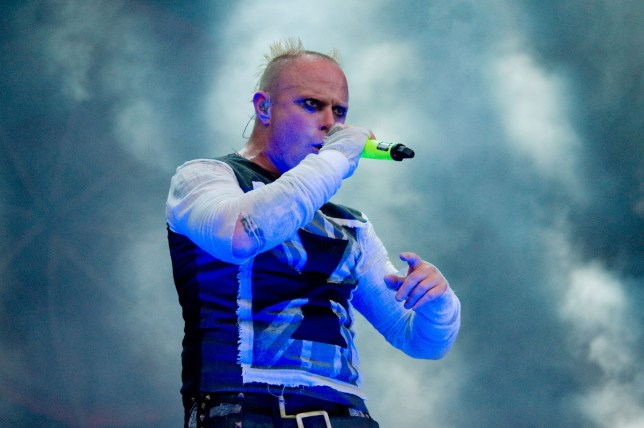 Mandatory Credit: Photo by Duncan Bryceland/REX/Shutterstock (4900964am) The Prodigy - Keith Flint T in the Park Festival, Strathallan Castle, Perthshire, Scotland, Britain - 12 Jul 2015