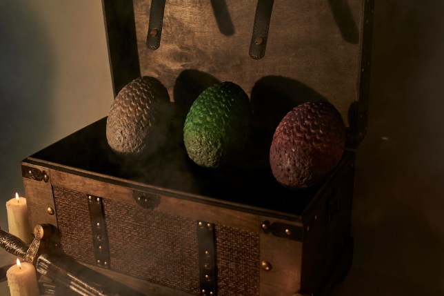 Deliveroo launches Game of Thrones painted dragons eggs for Easter Picture: Deliveroo PICS SUPPLIED TO METRO.CO.UK