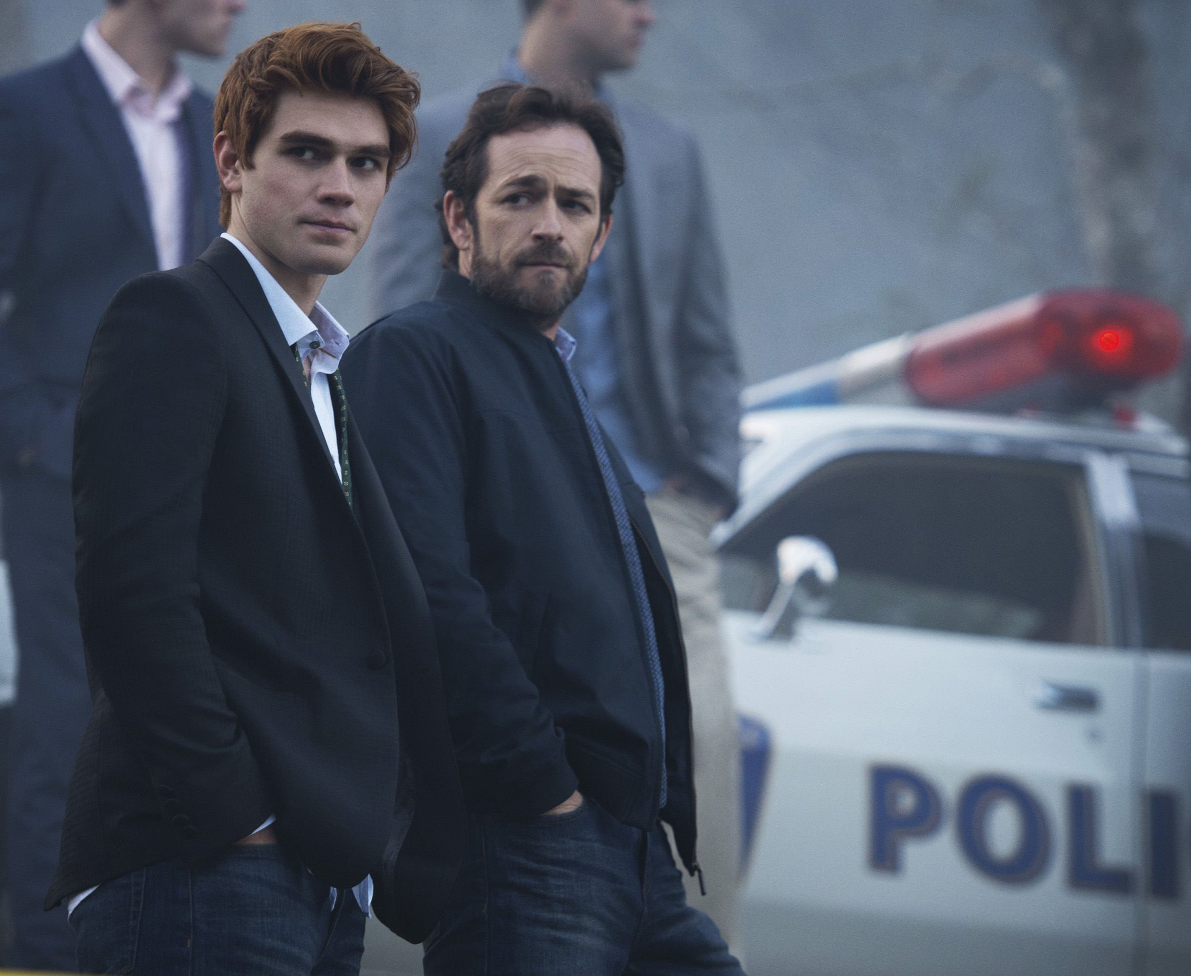 Riverdale's KJ Apa posts heartfelt tribute to onscreen dad Luke Perry after his death: 'Rest in love bro'