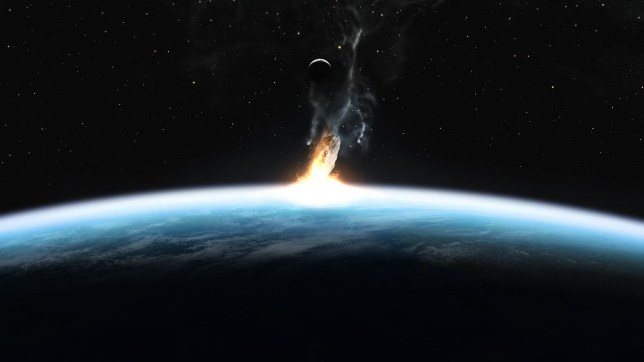 The 'tabletop' doomsday dress rehearsal will be a chilling demonstration of the grim destructive power of gigantic space rocks.