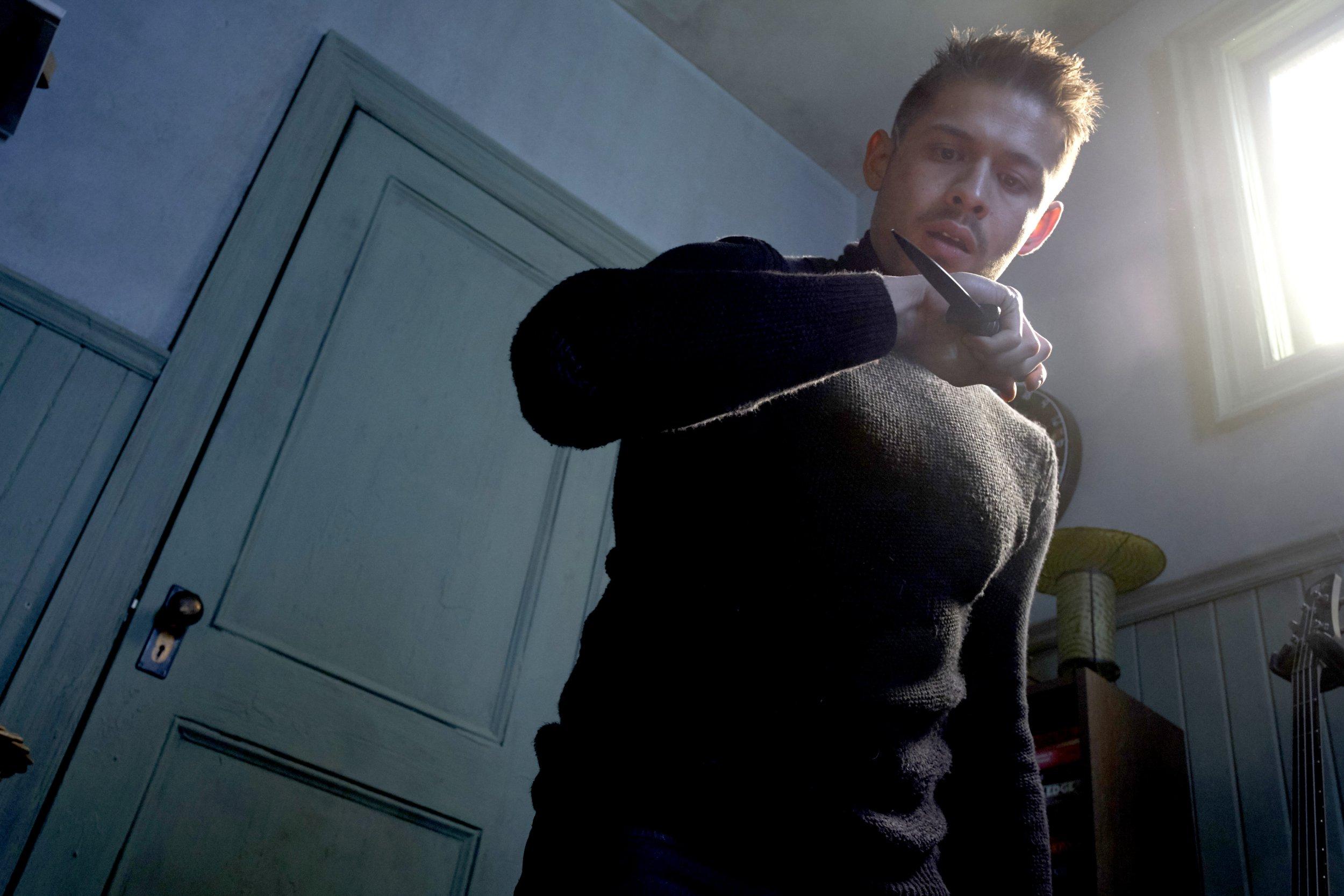 David Castaneda in The Umbrella Academy (Picture: Netflix)