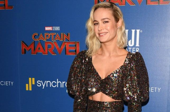 Mandatory Credit: Photo by Andrew H. Walker/REX (10143828bv) Brie Larson 'Captain Marvel' film screening, Arrivals, New York, USA - 06 Mar 2019