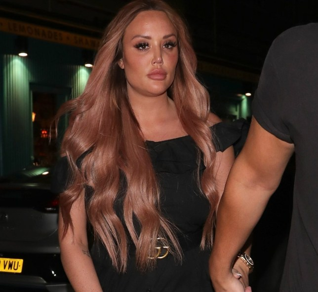 BGUK_1509591 - London, UNITED KINGDOM - Celebrities at Libertine nightclub for the Emiliy Atack X In The Style launch Party Pictured: Charlotte Crosby BACKGRID UK 6 MARCH 2019 BYLINE MUST READ: MM / BACKGRID UK: +44 208 344 2007 / uksales@backgrid.com USA: +1 310 798 9111 / usasales@backgrid.com *UK Clients - Pictures Containing Children Please Pixelate Face Prior To Publication*