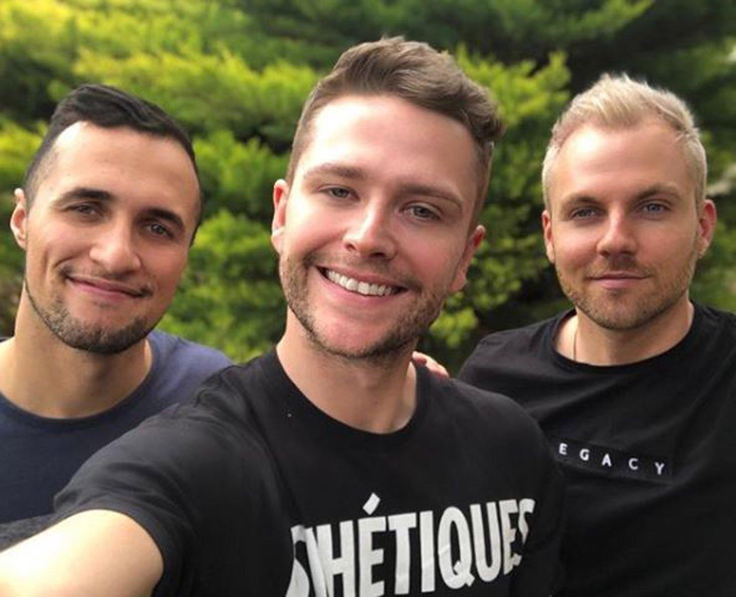 Anthony, Thomas and Jonny (PA Real Life/Collect)