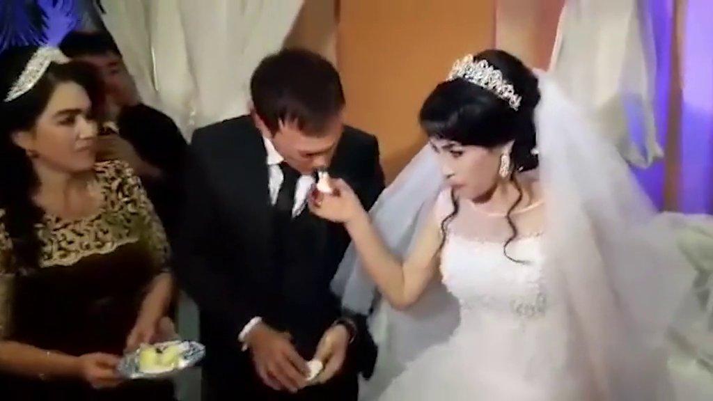 METROGRAB: Groom slaps newlywed wife in front of shocked wedding guests
