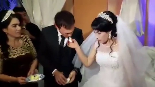 METROGRAB: Groom slaps newlywed wife in front of shocked wedding guests