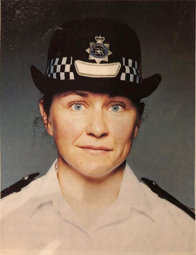 100 years of women in the Met Police Credit: Joanna Young