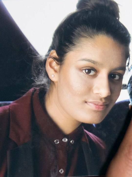Undated file photo of Islamic State bride Shamima Begum, whose baby son has died. PRESS ASSOCIATION Photo. Issue date: Saturday March 9, 2019. Ms Begum, 19, gave birth in a refugee camp in the middle of February, having already lost two children. Her third child's death was confirmed on Friday by her family's lawyer Tasnime Akunjee. See PA story POLITICS Syria. Photo credit should read: PA/PA Wire NOTE TO EDITORS: This handout photo may only be used in for editorial reporting purposes for the contemporaneous illustration of events, things or the people in the image or facts mentioned in the caption. Reuse of the picture may require further permission from the copyright holder.