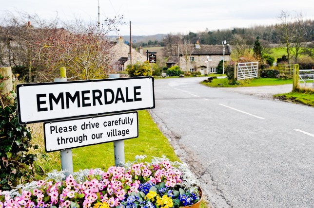 This couple are heading for splitsville in Emmerdale