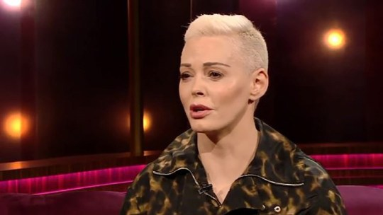 Rose McGowan compares Hollywood to Children of God cult Provider: RTE Source: https://videos.metro.co.uk/video/met/2019/03/10/7193521004084611641/640x360_MP4_7193521004084611641.mp4