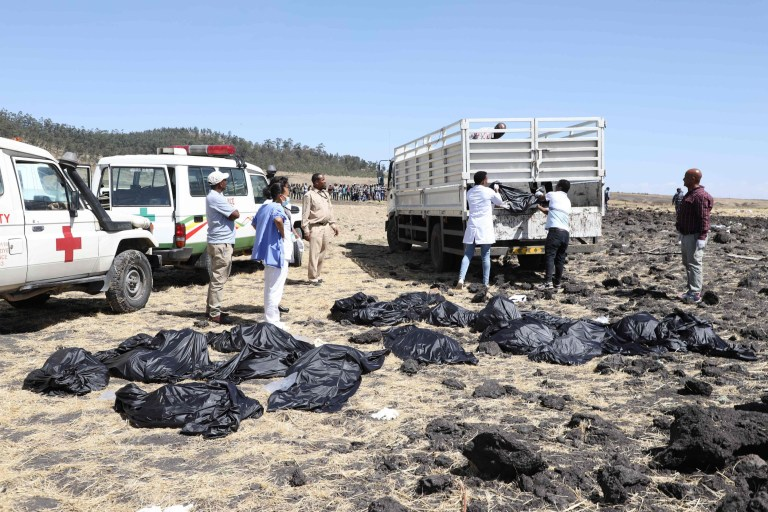 Seven British people among 157 dead in tragic Ethiopian Airlines