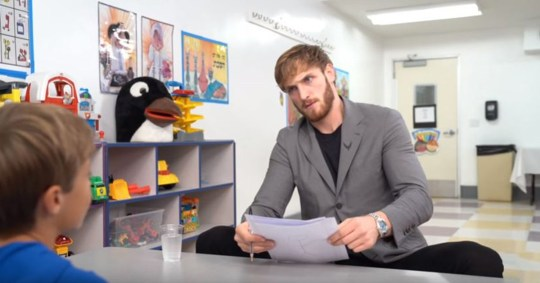 Logan Paul 'comes out of the flat earth closet' as he comes for Shane Dawson's bran Picture: Logan Paul