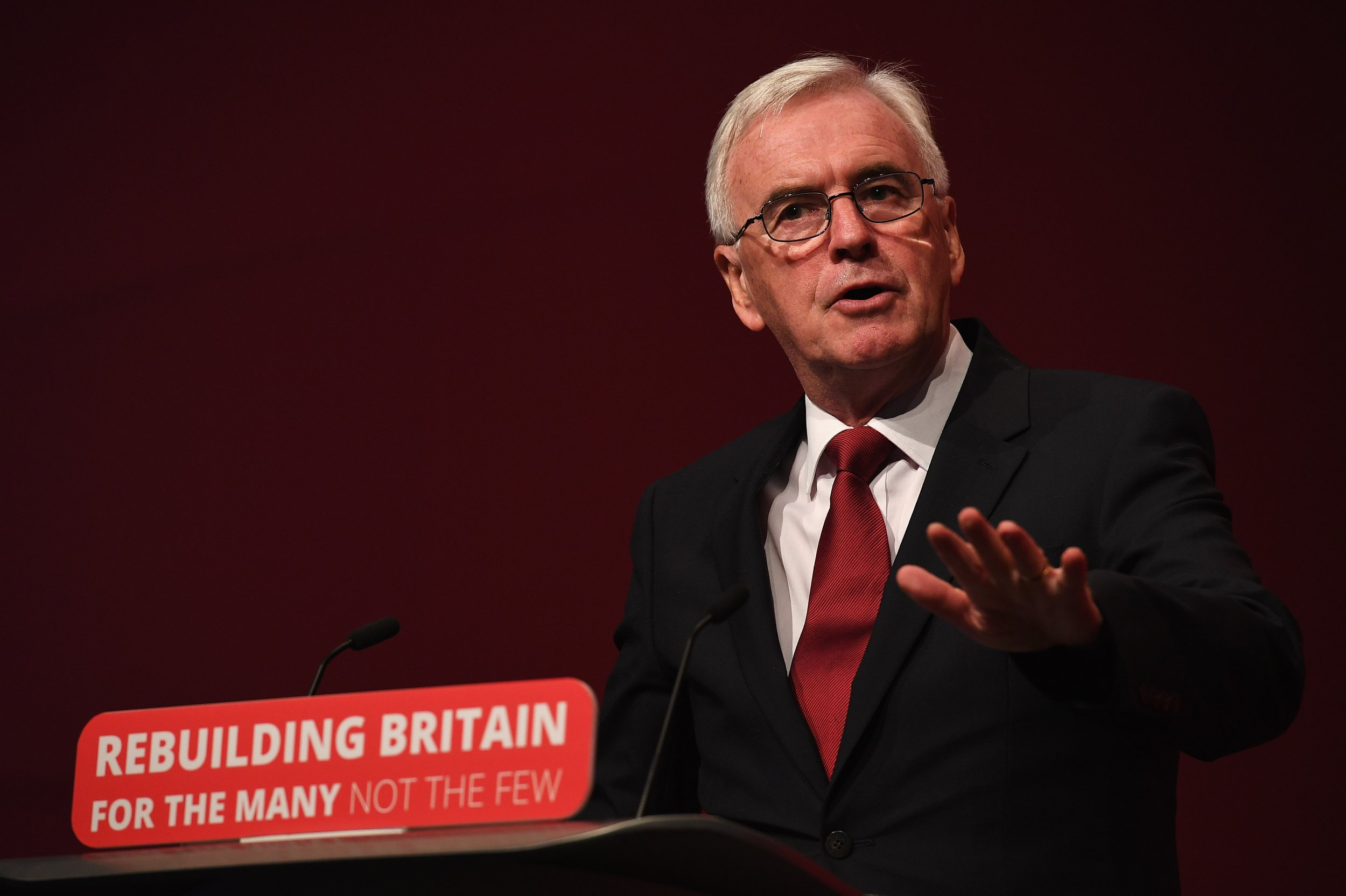 Labour MP John McDonnell calls Independent Group MPs 'completely irrelevant'