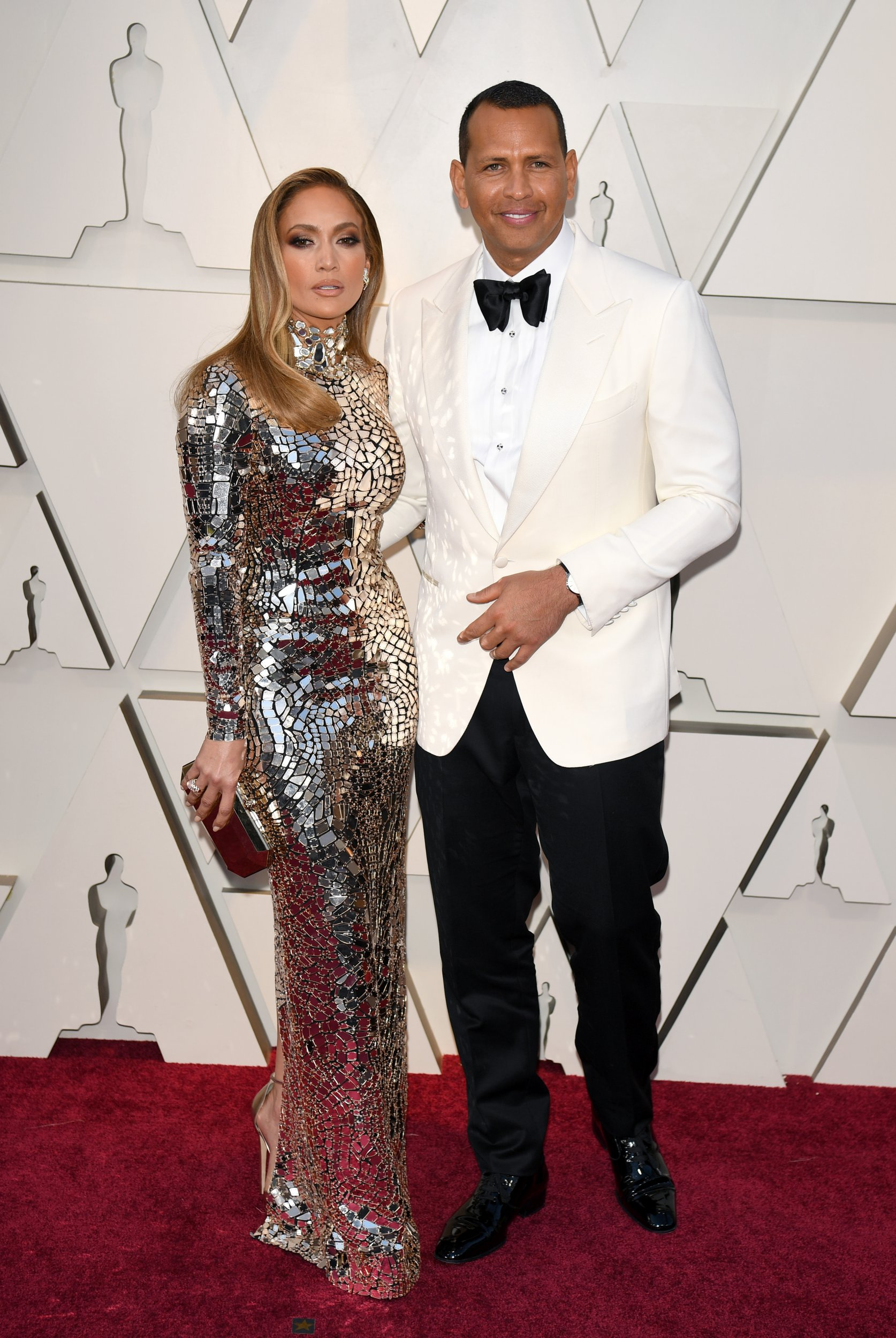 Mandatory Credit: Photo by Andrew H. Walker/BEI/REX/Shutterstock (10112916zo) Jennifer Lopez and Alex Rodriguez 91st Annual Academy Awards, Arrivals, Los Angeles, USA - 24 Feb 2019