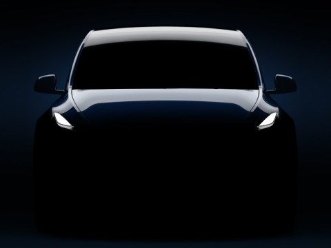 The Tesla Model Y sneak peek contains a hidden message from Elon Musk
