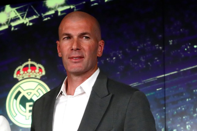 Soccer Football - Real Madrid Press Conference - Santiago Bernabeu, Madrid, Spain - March 11, 2019 New Real Madrid coach Zinedine Zidane after the press conference REUTERS/Susana Vera
