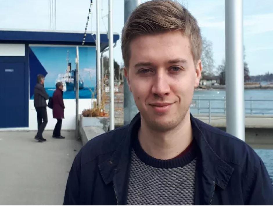 Picture: Metro Grab(No Credit) British victim in Ethiopia crash - Sam Pegram