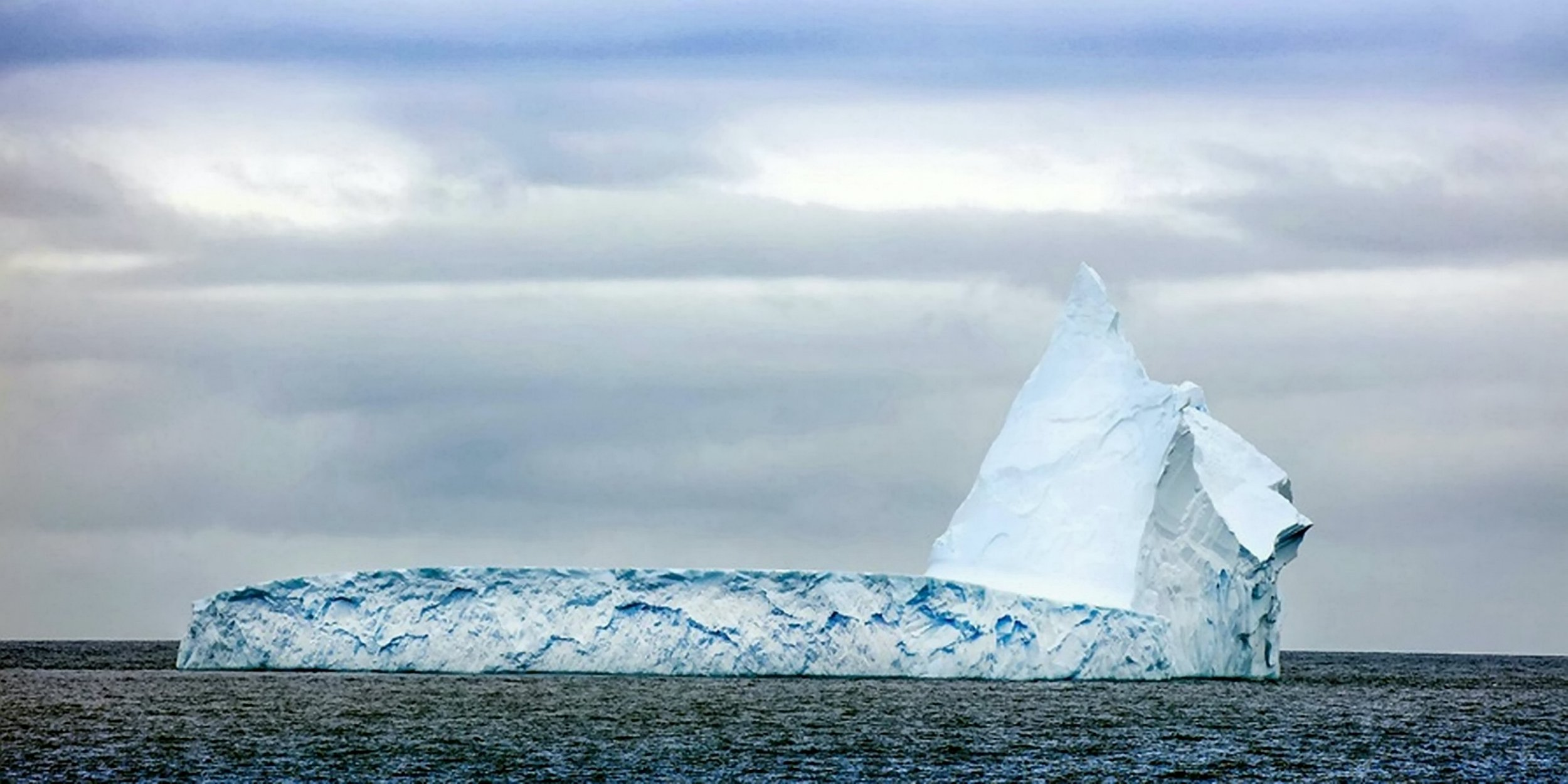 Iceberg the size of Bristol discovered by Royal Navy