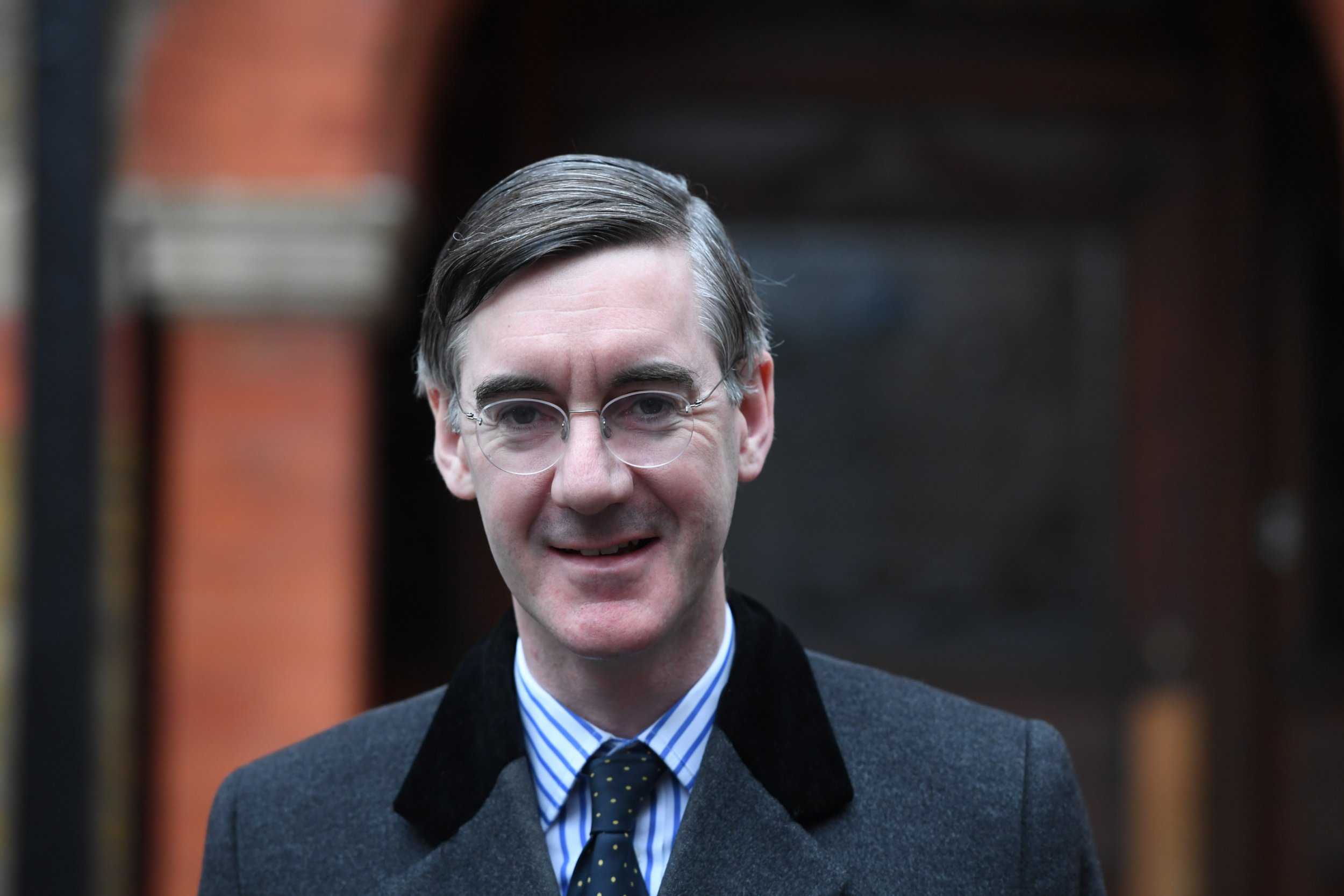 What is ERG and how long has Jacob-Rees Mogg been the chairman?