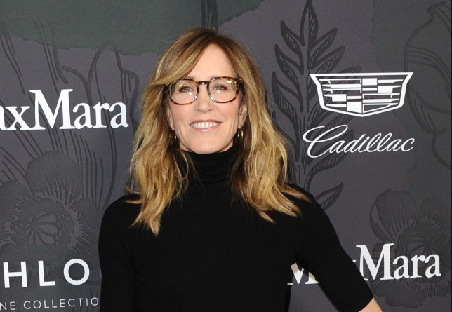 Mandatory Credit: Photo by Startraks Photo/REX/Shutterstock (10117440ch) Felicity Huffman Women in Film Oscar Nominee Party, Arrivals, Los Angeles, USA - 22 Feb 2019