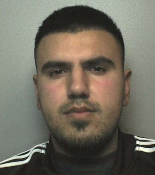 Undated handout photo issued by Staffordshire Police of Aziz Khan who has been jailed at Stoke-on-Trent Crown Court for 11 years and two months after raping a woman, filming the attack on Snapchat, and sending the footage to the victim's friends. PRESS ASSOCIATION Photo. Issue date: Tuesday March 12, 2019. See PA story COURTS Snapchat. Photo credit should read: Staffordshire Police/PA Wire NOTE TO EDITORS: This handout photo may only be used in for editorial reporting purposes for the contemporaneous illustration of events, things or the people in the image or facts mentioned in the caption. Reuse of the picture may require further permission from the copyright holder.