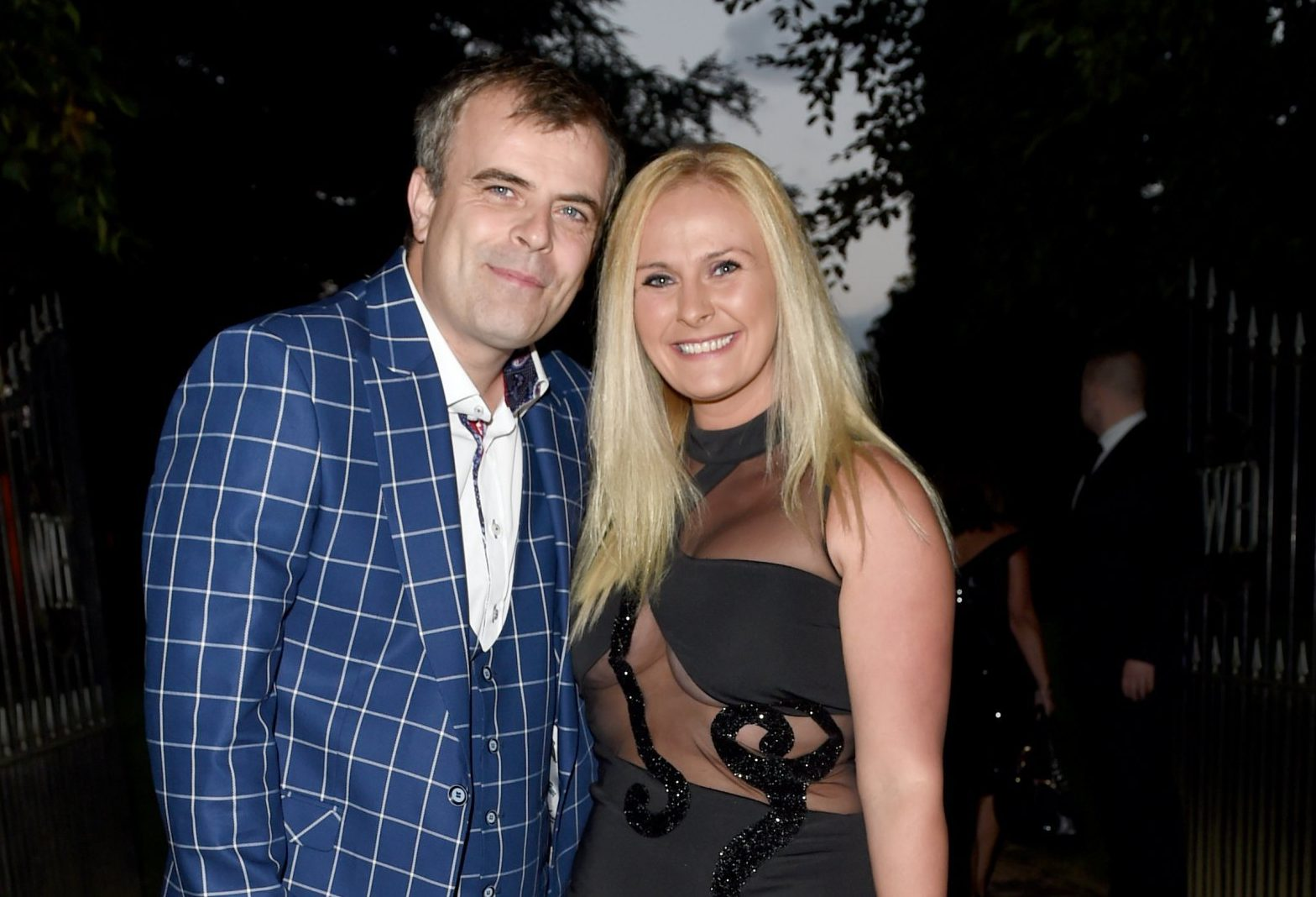 Simon Gregson has been left horrified at the shock attack on his wife