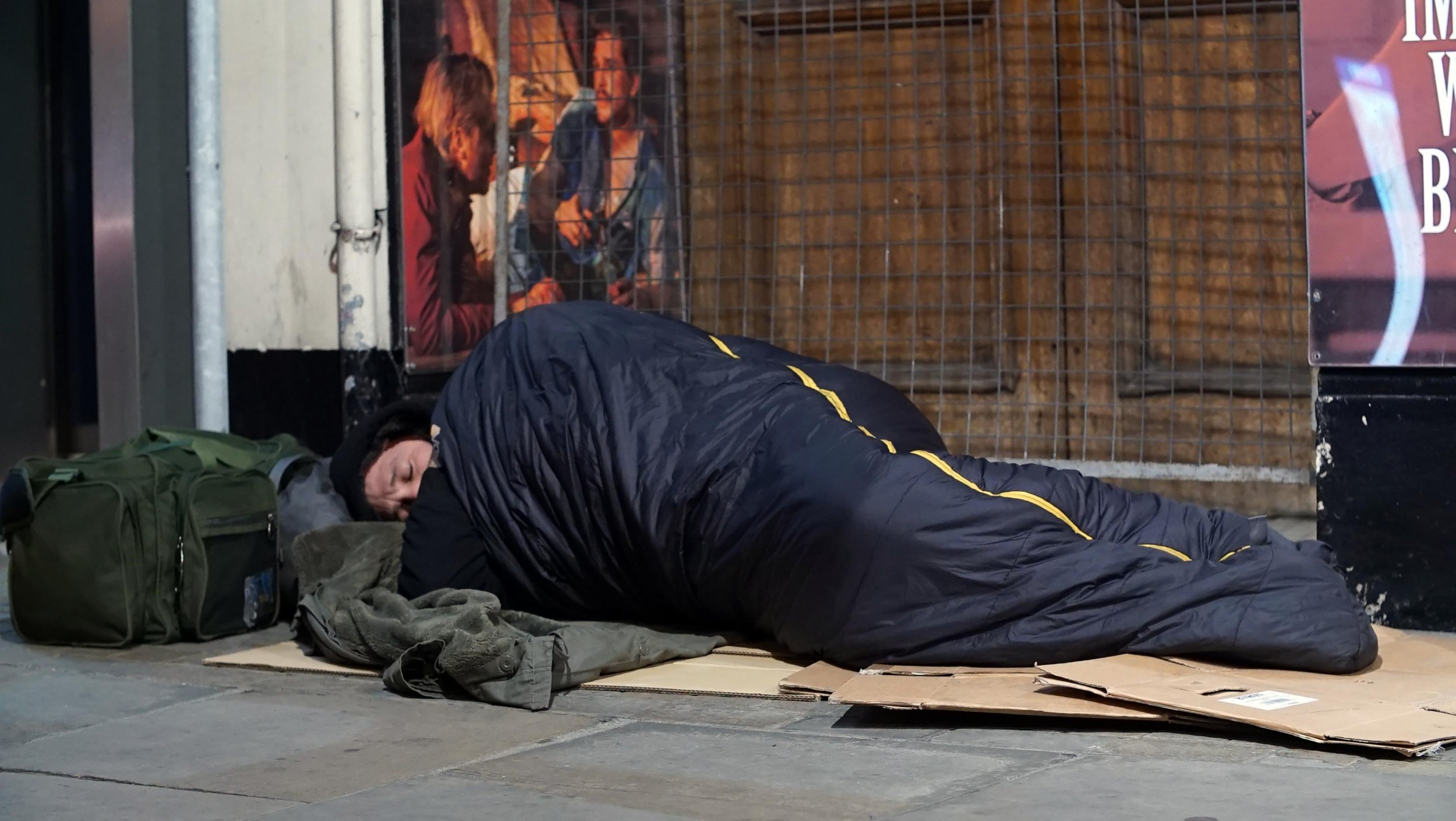 Fake rough sleeper who earns up to £600 a day says begging brings in more than working