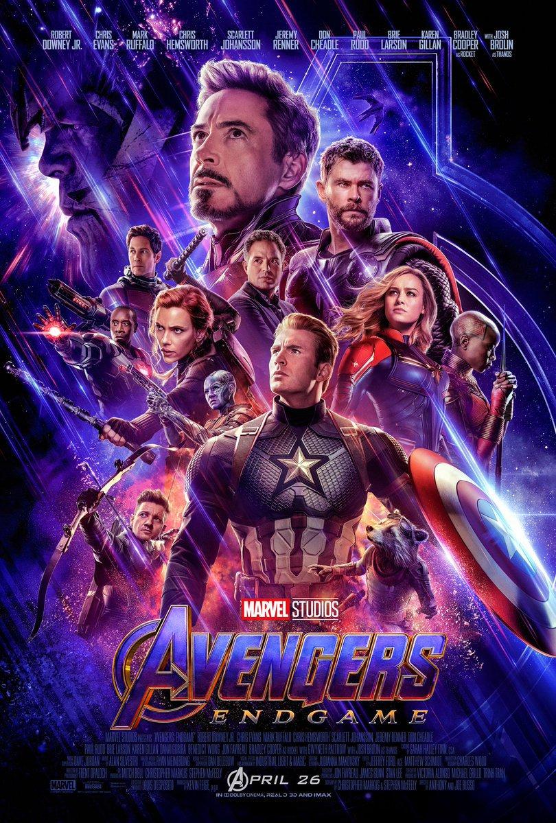 Avengers Endgame poster