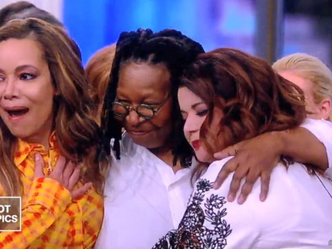 Whoopi Goldberg shocks The View co-stars with surprise return after revealing she almost died from pneumonia