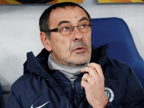 Maurizio Sarri keen for Chelsea to avoid Napoli in Europa League quarter-finals