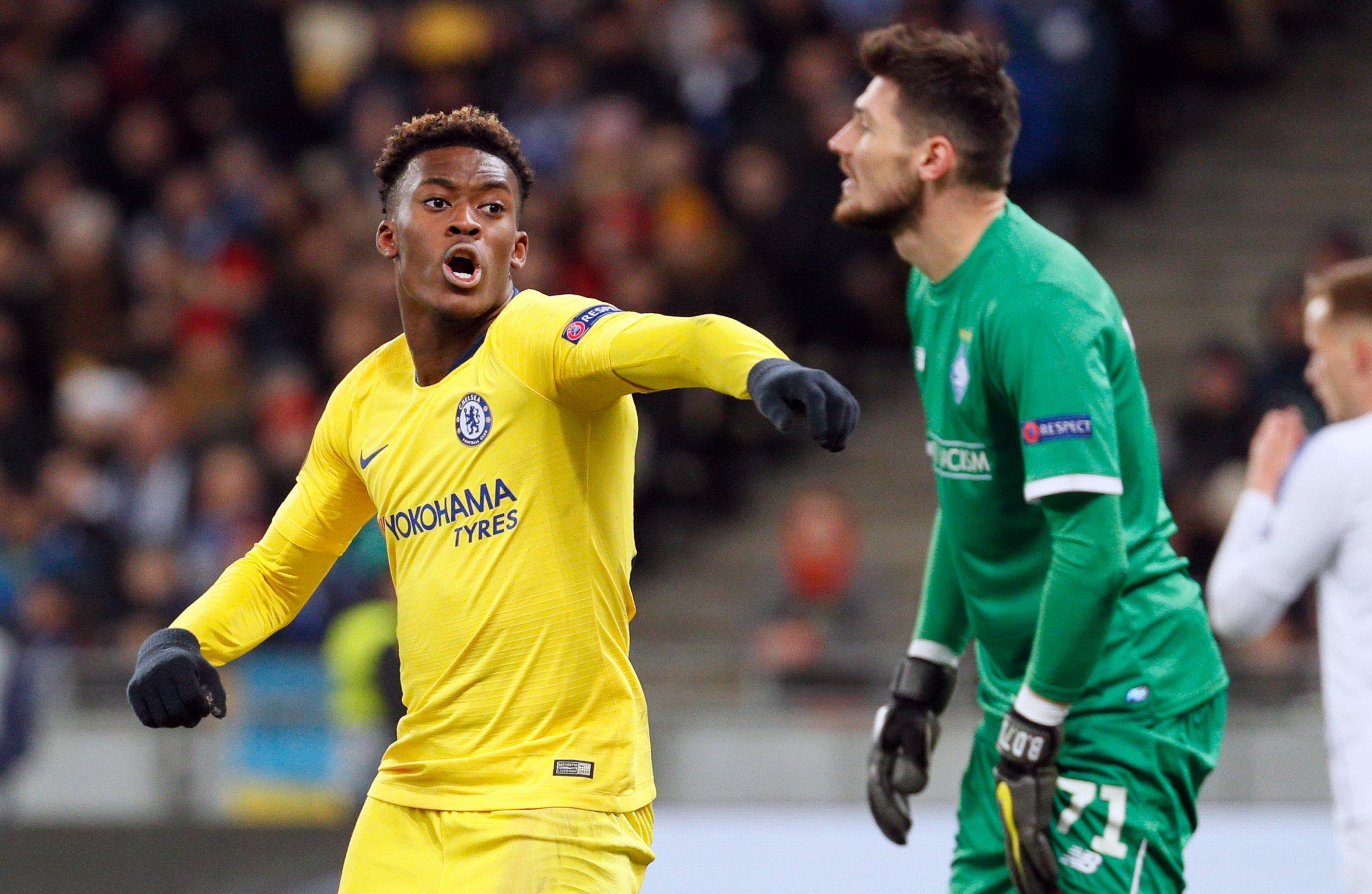 Callum Hudson-Odoi might have to leave Chelsea, says Glenn Hoddle