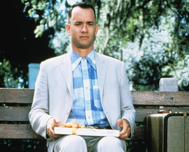 Editorial use only. No book cover usage. Mandatory Credit: Photo by Paramount/Kobal/REX/Shutterstock (5885390u) Tom Hanks Forrest Gump - 1994 Director: Robert Zemeckis Paramount USA Scene Still Comedy/Drama