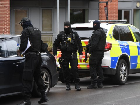 Man shot dead by armed police at flat in Birmingham