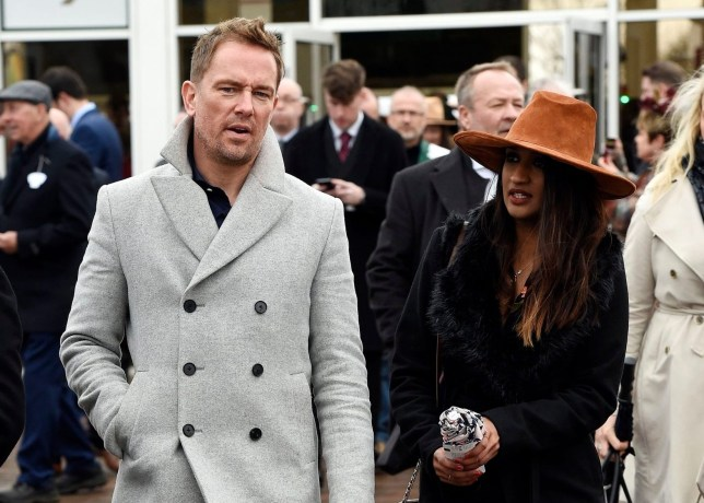Simon Thomas and new girlfriend Derrina Jebb