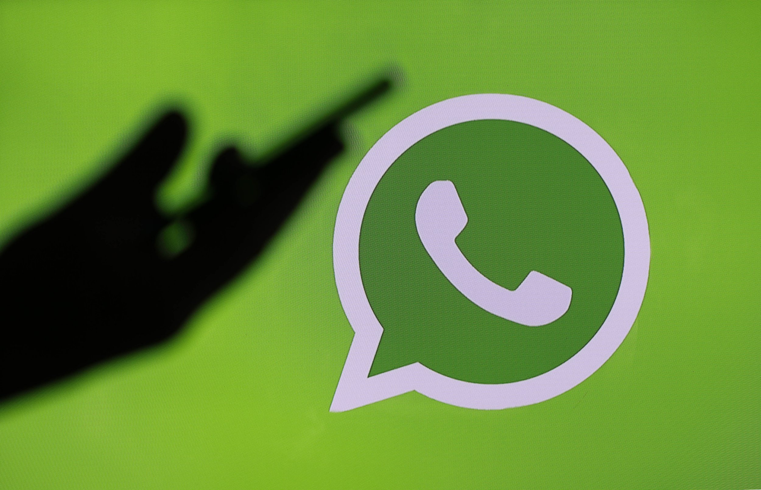 PARIS, FRANCE - MARCH 15: In this print illustration, a amicable media focus logo, WhatsApp is displayed on a shade of a mechanism on Mar 15, 2019 in Paris, France. Social media Facebook, Instagram, Messenger and WhatsApp have been influenced by a tellurian outage for scarcely 24 hours on Mar 14, 2019 slicing practical worlds to scarcely 2.3 billion intensity users. Facebook has explained a causes of malfunctions that have disrupted a networks in new days. This disaster is due to a server pattern change that has caused cascading problems Facebook is immune for a nuisance caused to users and companies that are contingent on Facebook, Instagram or WhatsApp to run their business.(Photo by Chesnot/Getty Images)