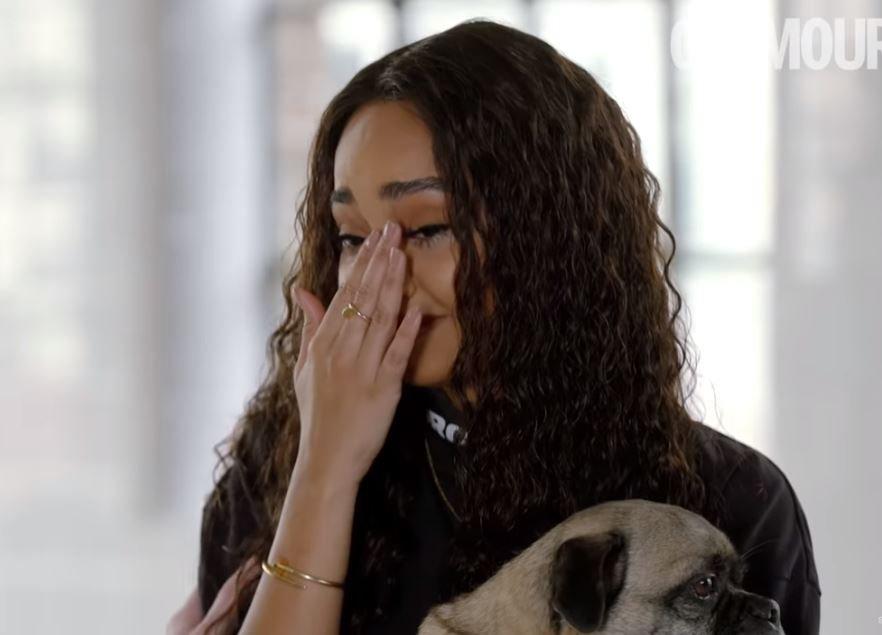 Little Mix's Leigh-Anne Pinnock breaks down in tears over online abuse