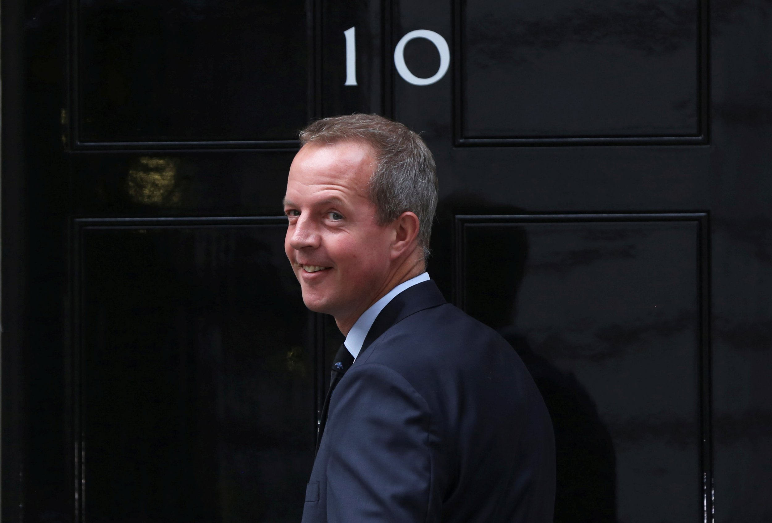 FILE PHOTO: Nick Boles arrives at 10 Downing Street in central London, Britain May 11, 2015. REUTERS/Neil Hall/File Photo/File Photo