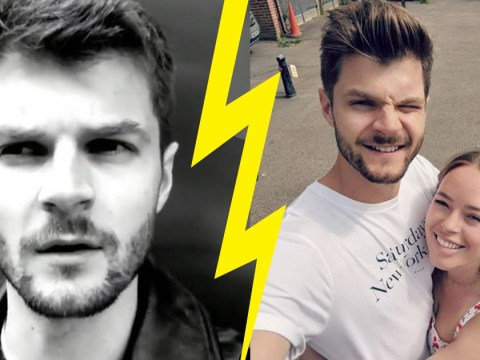 Jim Chapman warns fans not to ask about split from Tanya Burr