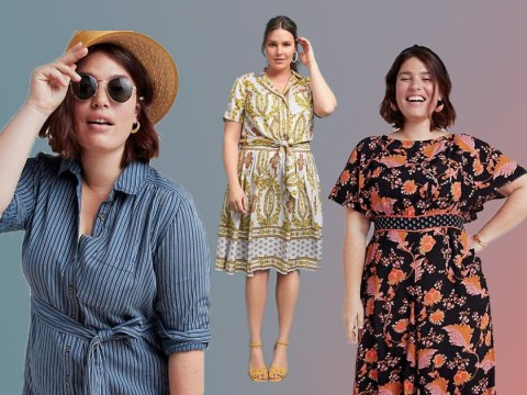 Anthropologie launches 120-piece plus size range and it's glorious