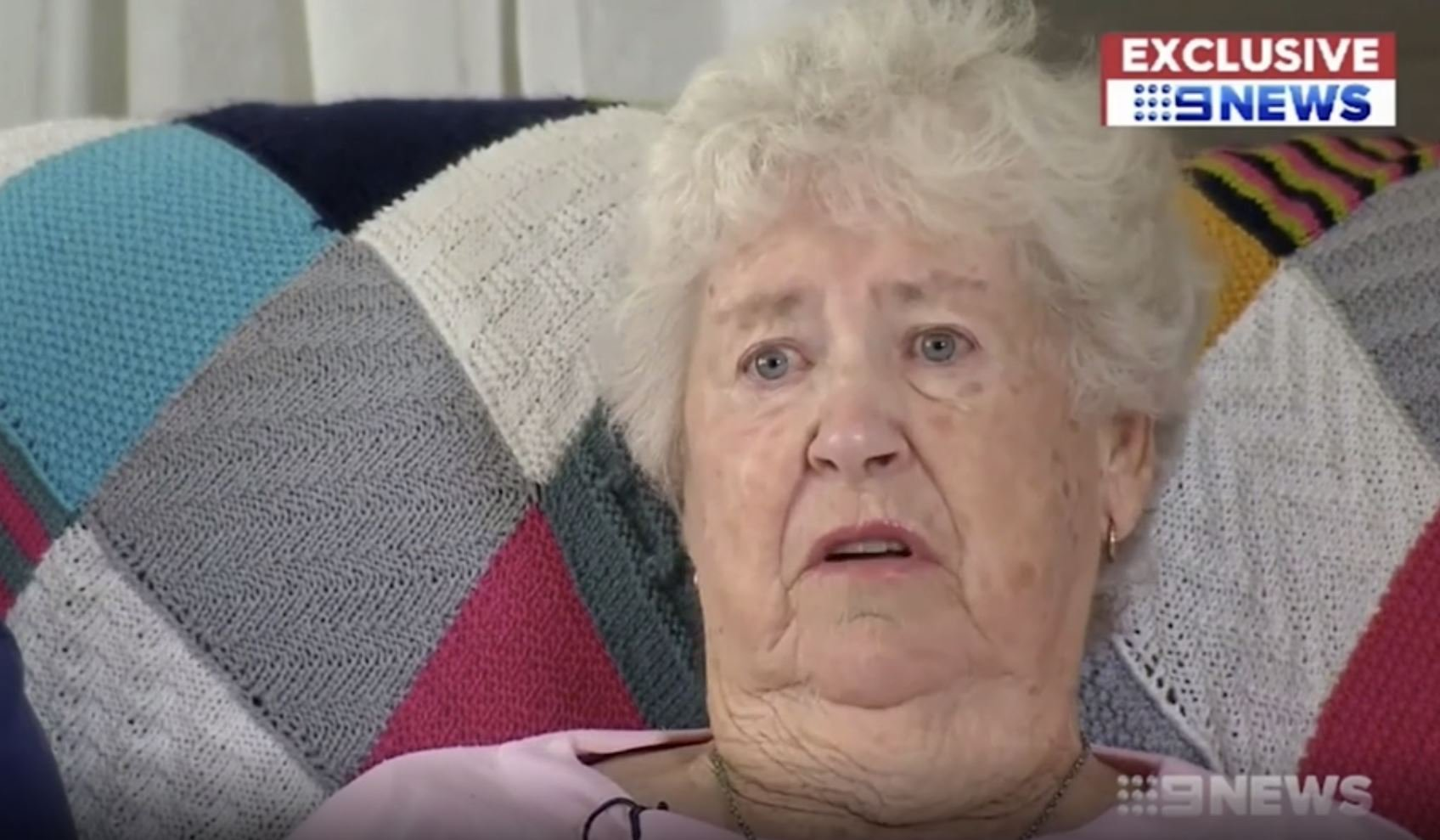Picture: Nine 'Shattered' grandmother of 'Christchurch gunman' says sorry to victims